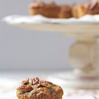 Maple, Banana + Pecan Muffins
