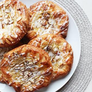 Vanilla Custard Almond Crowns [Vegan].