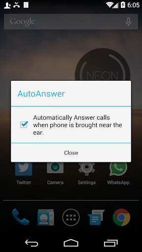 EarAnswer Auto Call Picker