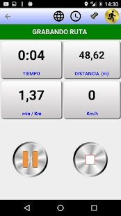 GPS TOTAL RUN Screenshot