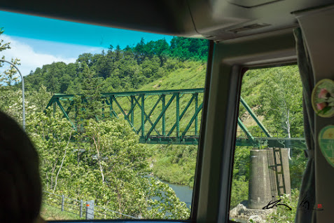ポンカムイコタン鉄橋