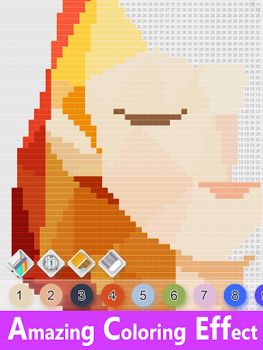 Color Number - Relaxing Gameuff1a Free Coloring 0.2.500 app download 9