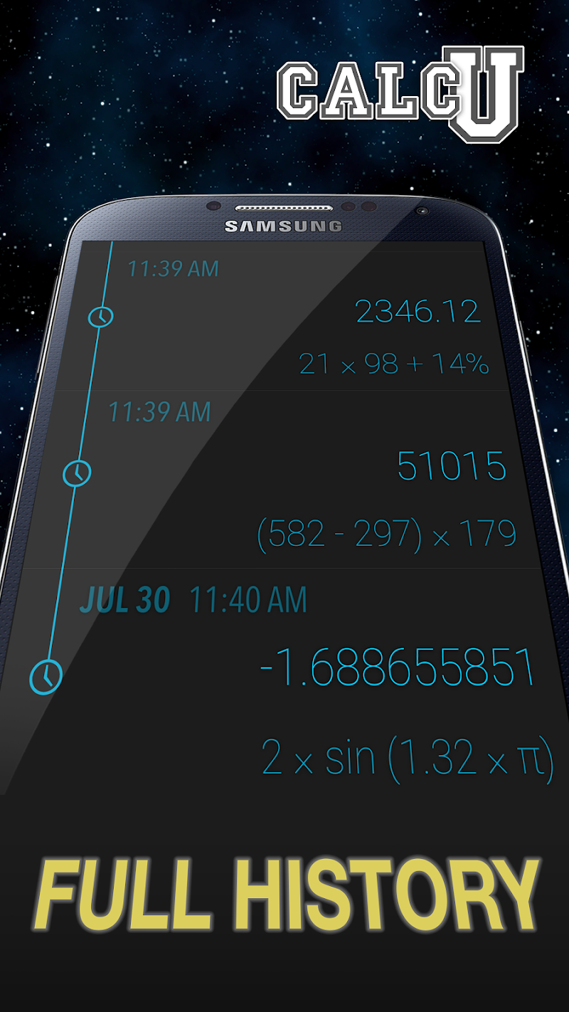 CALCU™ Stylish Calculator Free Screenshot 3