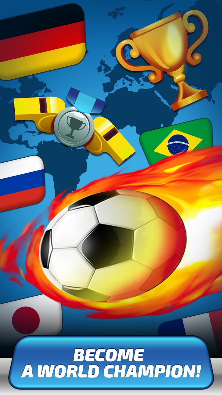 Скриншот Score Goal Tap Clicker: Russia 2018 Group Calendar