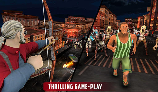 Archer Hunting Zombie City Last Battle 3D 1.0.4 screenshots 14