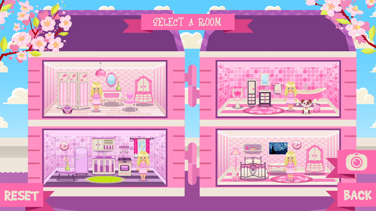 Dollhouse design room designer android apps on google play Home design app games