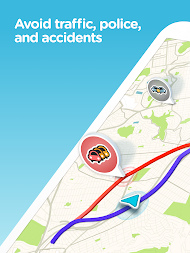 Waze - GPS, Maps, Traffic Alerts & Live Navigation APK screenshot thumbnail 6