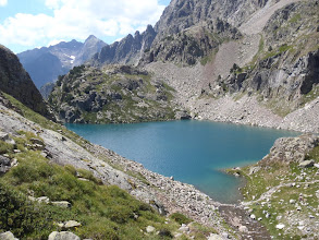 Photo: Ivó d'Arriel Baxo (2on estany) des del camí als Frondellas