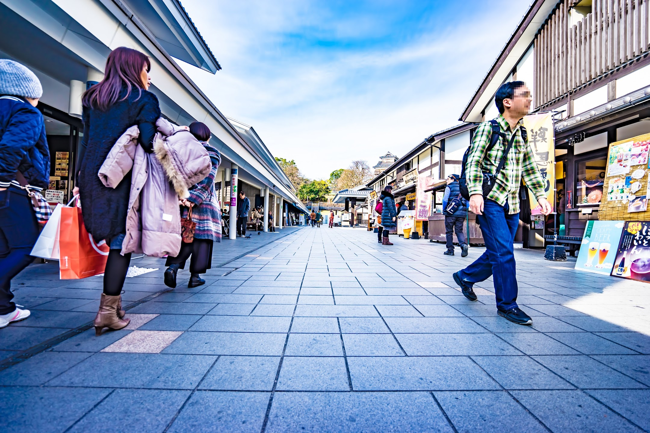 熊本城 城彩苑 桜の小路3