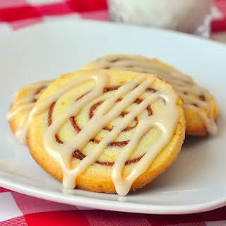 Orange Cinnamon Roll Cookies.