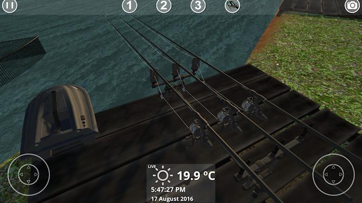 Carp Fishing miniatura Simulator tela