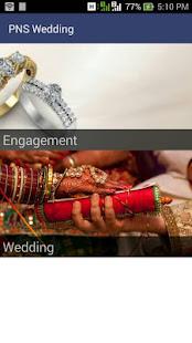 PNS Wedding screenshot