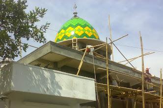 Photo: Kubah Masjid Cilacap Jateng