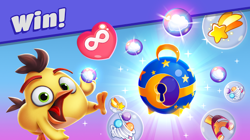 Angry Birds Dream Blast - Toon Bird Bubble Puzzle apkslow screenshots 2