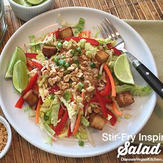 Stir-Fry Inspired Salad