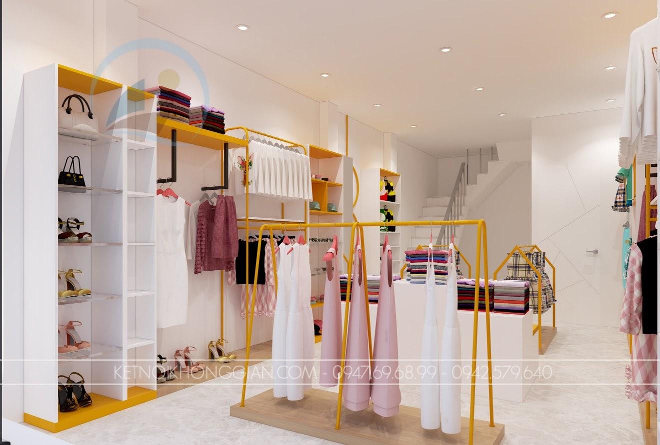 thiết kế shop mẹ và bé nhím store 8