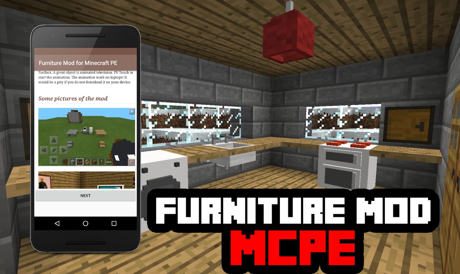 Furniture Mod For Minecraft Pe Android Apps On Google Play # Muebles Minecraft
