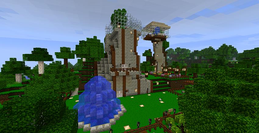 скачать майнкрафт perfect minecraft building #10