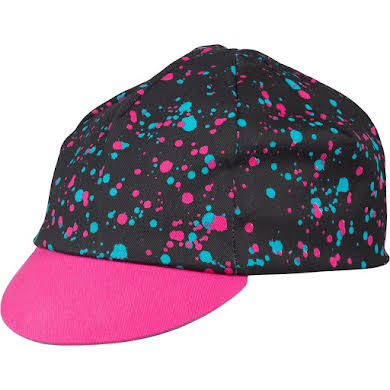 All-City 10th Anniversary Cycling Cap: Black/Multi-color, One Size