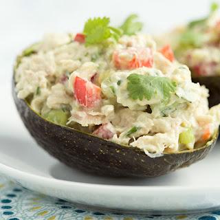 Skinny Avocado Tuna Salad.