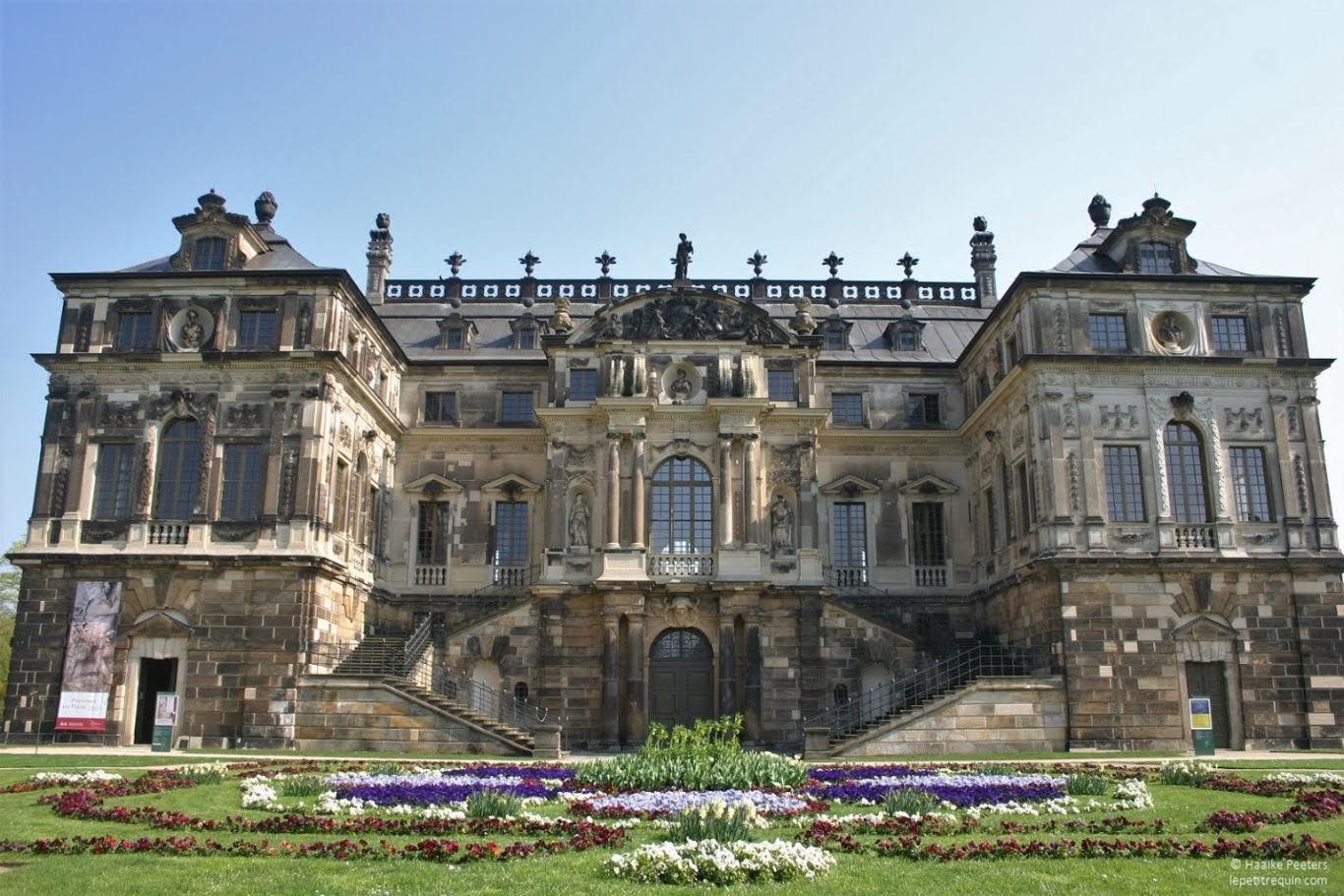 Palais im Grosser Garten Dresden (Le petit requin)