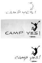 """Photo: """"Camp YES!"""" logo (v2)"""