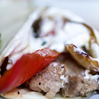 Slow Cooker Steak Fajitas #SundaySupper