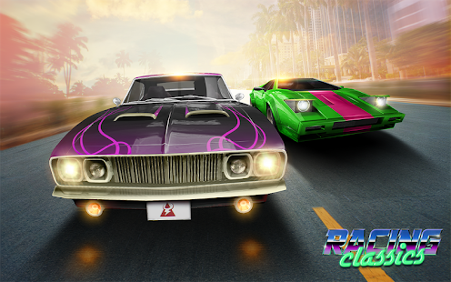 ApkMod1.Com Racing Classics + (Mod Fuel) for Android Game Racing
