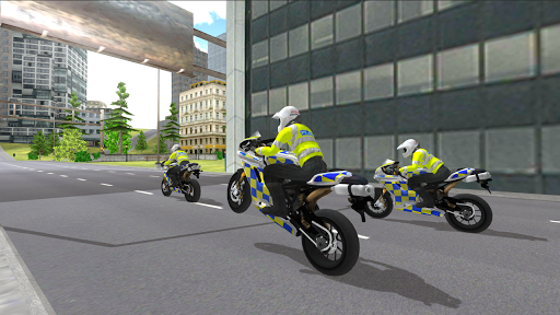 Police Motorbike Simulator 3D  screenshots 2