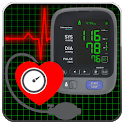 Blood Pressure Tracker : Scan Test Checker Diary icon