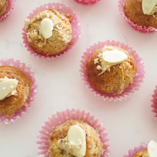 Nutty Mini Tahini Cakes.