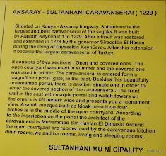 Photo: Sultanhani Caravanseri