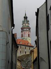 Photo: Tower of Krumlov Castle