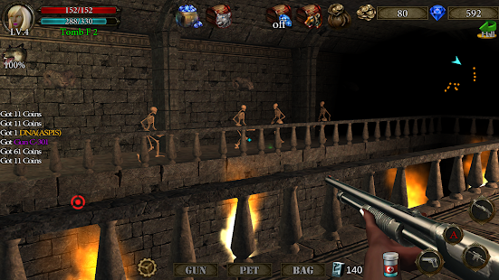 ApkMod1.Com Dungeon Shooter V1.1 + Mod (Increasing of Money Crystals) for Android Adventure Game