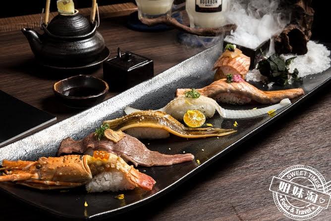 墨吉日本料理司勾伊製燒握壽司