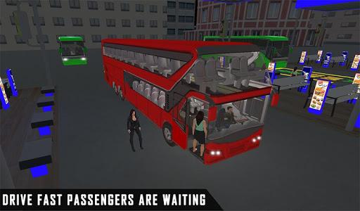 mobile bus driving sim 2018 - tourist coach drive 1.1 screenshots 10