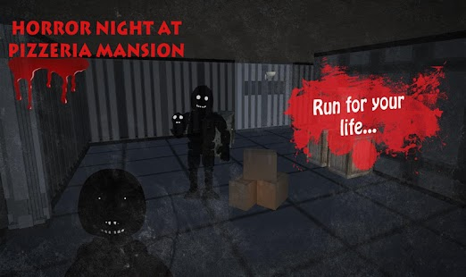 Horror Night at Pizzeria Mansion - náhled