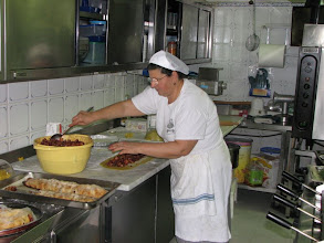 Photo: Anna, one of our cooking teachers