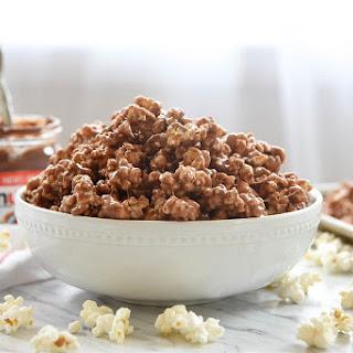 Nutella Marshmallow Popcorn.