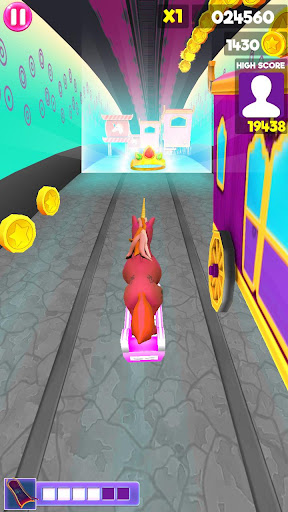 Unicorn Runner 2020: Running Game. Magic Adventure filehippodl screenshot 8