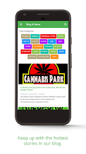 Cannabis.net- screenshot thumbnail