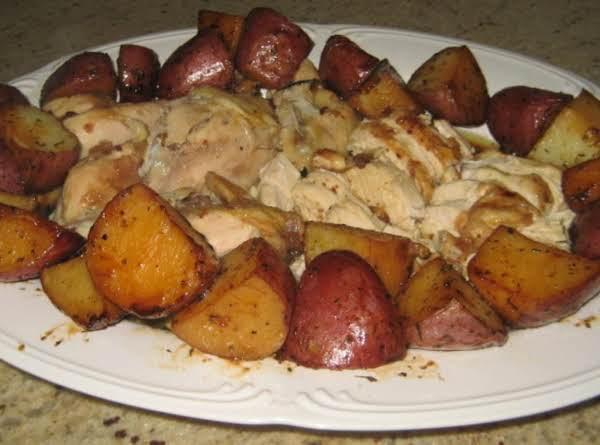 Italian Chicken In A Pot