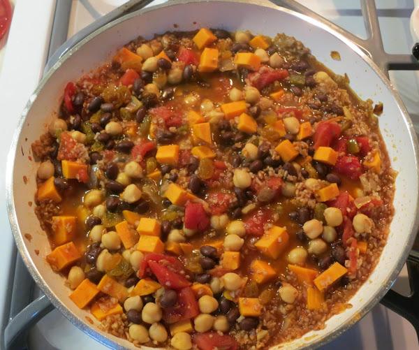 Moroccan Spiced Sweet Potato Medley Recipe