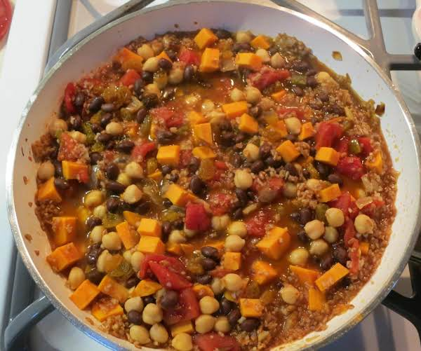 Moroccan Spiced Sweet Potato Medley Recipe
