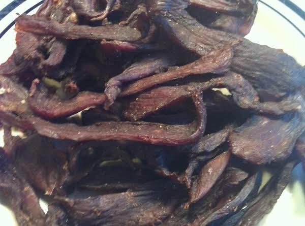 Cracked Black Pepper Venison Jerky