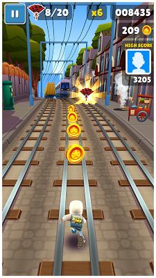 Subway Surfers - screenshot