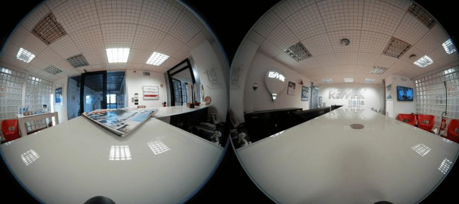 VR動画 360度映像 集客