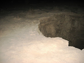 Photo: Crater opening up...האדמה מתבקעת
