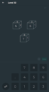 Black Math - Challenge 140 puzzles - náhled