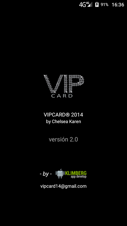 VipCard- screenshot